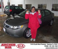 Congratulations to Linda Hightower on the 2013 Kia Forte