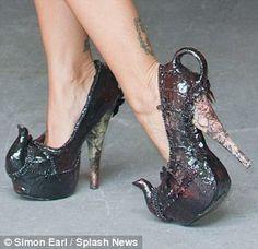 teapot shoes?