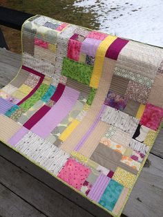 Spring! | Flickr - Photo Sharing! I love the colors in this quilt.