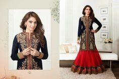 Craftsvilla - Beautiful Bipasha Basu Net Long Designer Heavy Choli Lehenga