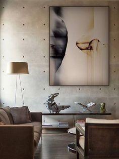 pareti cemento con vista casseri