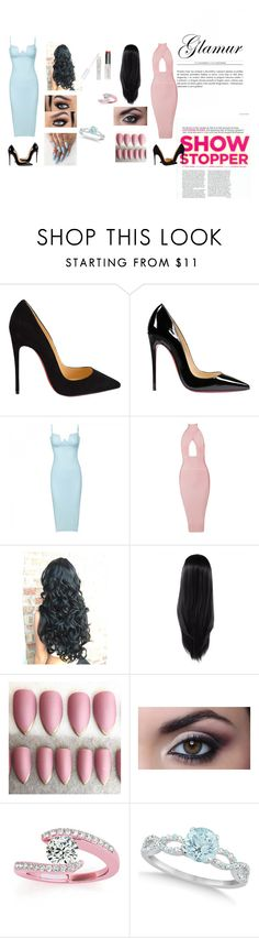 """Untitled #13"" by tiaamerson on Polyvore featuring beauty, Christian Louboutin, Posh Girl, Allurez and W3LL People"