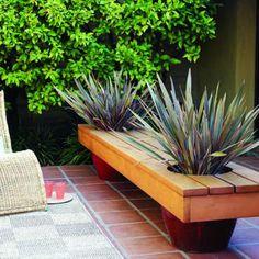 flower pot bench