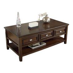 Signature Design by Ashley T654-0 Larimer Rectangular Cocktail Table