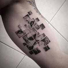 Projetos Originais e Incomuns de Tatuagem