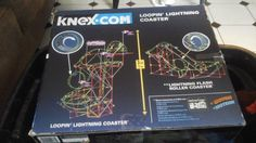 K'Nex Loopin Lighting Coaster Replacement / Add On Parts  See Photos used #KNEX