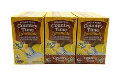 Country Time Singles To Go Lemonade Flavor Low Calorie Drink Mix (Lemonade, 18 Pack) *** Want additional info? Click on the image. #SoftDrinks