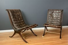 Vintage Mid-Century Lounge Chairs by Gerald Jerome