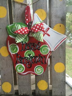 School Nurse Door Hanger By WhimsyGirlArt On Etsy