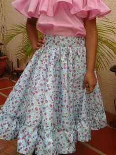 Novedades Paola: Pasos para Confeccionar una Falda de Danza FolKlorica
