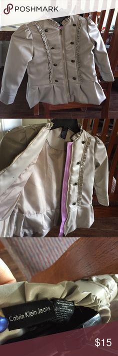 Jacket Girls jacket Calvin Klein Jackets & Coats
