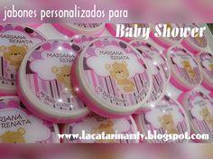 Custom baby shower soap