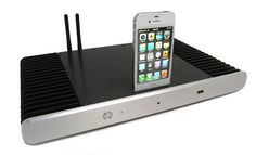 A-Tech Fabrication HeatSync 1200 Ultra-slim Mini PC - The A-Tech Fabrication HeatSync 1200 is not an ordinary ultra-slim mini PC, because it is equipped with a docking station for Apple's iPhone or iPod. The computer features a 2.5GHz Intel Core i3-2100 Sandy Bridge processor, up to 8GB of RAM, up to 80GB B of SSD, WiFi adapter, HDMI, USB ports, etc. The A-Tech Fabrication HeatSync 1200 ultra-slim mini PC is priced at 1,449 Dollars.