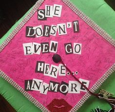 Graduation cap this would be great for me bc of the D.E. Program I'm never at my H.S. anyway lol