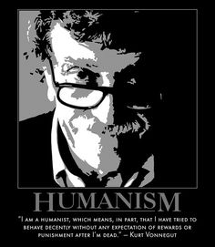 ..the religion of behaving decently - Humanism