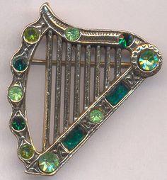Vintage Celtic Irish  BroochCeltic PinIrish by rosiesvintageshop, $14.50