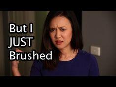 But I just brushed! - YouTube / Natalie Tran
