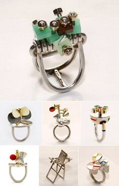 TheCarrotbox.com modern jewellery blog : obsessed with rings // feed your fingers!: Peder Musse / Dorte Lausten