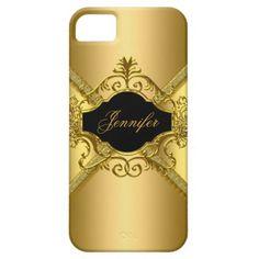 Elegant Classy Gold Black