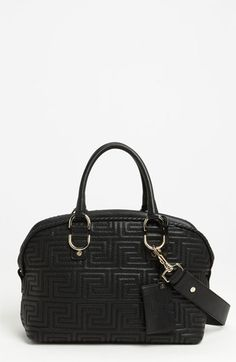 Versace  Couture  Leather Bowler available at  Nordstrom Me Bag fea558baf676a