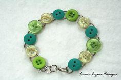Upcycled Button Bracelet