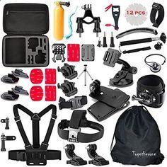 HR.. Abrazadera TMC Jaws Flex Montaje para Gopro HD Cam GoPro Hero 4//3+//3//2//1