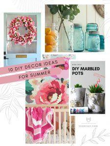 10 Diy Summer Decor Ideas In 2020 Diy Summer Decor Summer Diy Summer Decor
