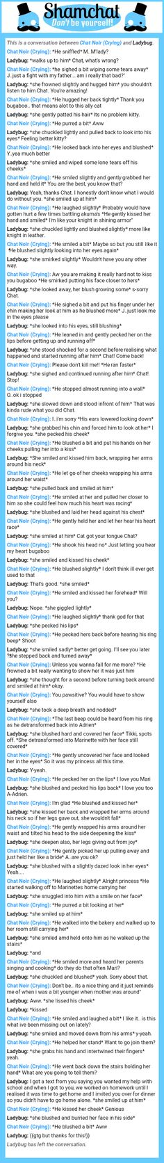 A conversation between Ladybug and Chat Noir (Crying). Cartoon Ships, When Things Go Wrong, Ladybug Comics, Together Forever, Cute Pins, Clueless, Miraculous Ladybug, Love Story, Fandoms