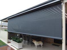 Luxury Balcony Blinds Outdoor
