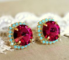 Ruby & Turquoise, love!