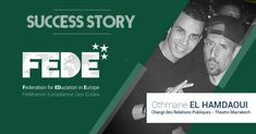 Success Story : Un Etudiant FEDE très VIP – FEDE – Federation for EDucation in Europe Europe, Success, Vip, Father, Student, Movies, Movie Posters, Pai, Films