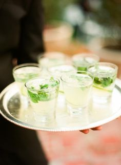 Mojitos Wedding Cocktails | photography by http://www.lindsaymaddenphotography.com/