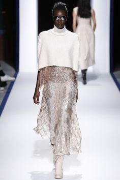 Talbot Runhof, мода осень зима 2016 2017, модные коллекции 2016, осень зима 2016 2017 неделя моды, модные вязаные вещи, вязаный подиум (фото 2)