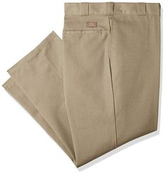 9372a1cb0 Dickies Men's Original 874 Work Pant Khaki 26W x 28L Work Pants, Khaki Pants ,