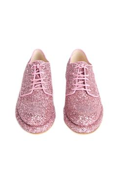 Takes after her daddy...... Love these Simone Rocha brogues