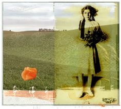 Forbidden Landscape series No. 19 http://www.etsy.com/listing/82173014/photograph-collage-woman-landscape-field
