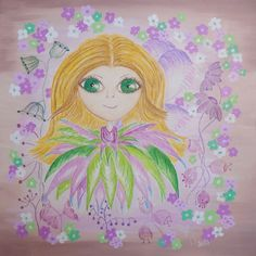 Agata - fairy for happiess, reproduction - aquarelle paper, USD 30,00 + postage and packing format 20x20cm