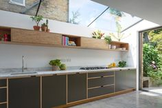 Bespoke Plywood Kitchen by Uncommon Projects