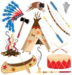 american-indian-clipart-icons-vector-361915.jpg (380×400)