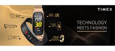 Timex Fitness Band includes a dedicated charger and has an extra silicone strap. Tab to read. Gadget News, Fitness Band, Different Sports, Mesh Band, Metal Bands, Stainless Steel Case, Fitness Fashion, Smart Watch, Charger