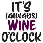 Silhouette Design Store: it's always wine o'clock Wine Glass Sayings, Wine Quotes, Wine Signs, Expensive Wine, Cheap Wine, Wine O Clock, Wine Bottle Crafts, Wine Bottles, Wine Time