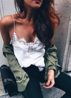 $24.99 Chicnico Sexy Lace Spliced Top Camisole. 2018 Spring / Summer Fashion Holiday New Style