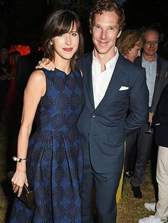 Benedict Cumberbatch Shows PDA with Wife Sophie Hunter in Their First Outing After Welcoming Son