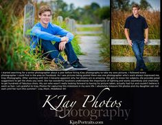 I love what I do and love my customers.  #Passionate about #SeniorPics.  www.kjayportraits.com High school senior photos for boys.