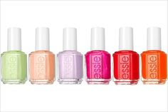 "Essie spring 2012. ""Navigate her"" collection."