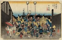 Hiroshige - Nihobashi