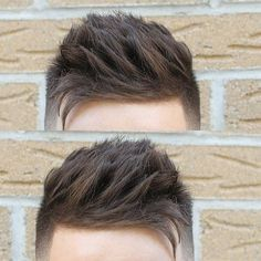 Side Swept Texture haircuts for men