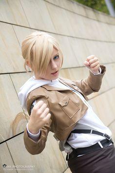 cosplay 進撃の巨人 アニ・レオンハート