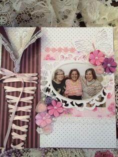 Caixa 3 irmãs rosa