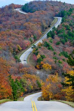talimena road in arkansas